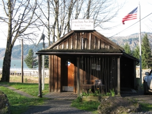 Bridal Veil Oregon has 2nd smallest post office in America