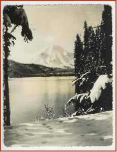 Spirit Lake and Mt. St. Helen 1949