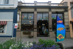 The Natural Nook participates in monthly art walks